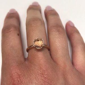 Kendra Scott Rose Gold Ring